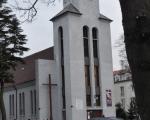 Kościół w okolicy willi Christo.