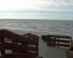 Schody na plażę.