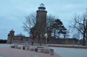 Latarnia morska w porcie Kołobrzeg